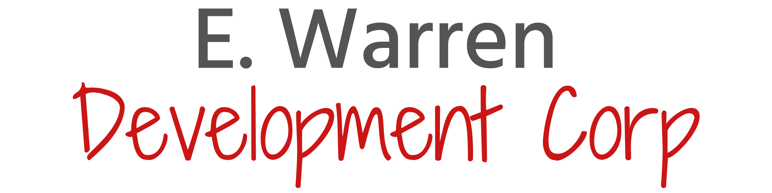E Warren Development Corp